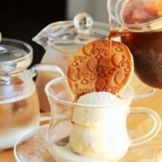 ★バニラアイス&生クリークの美味しいドリンクあります♪