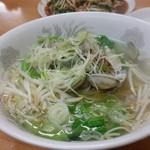 丸福飯店 - 料理写真:アサリラーメン