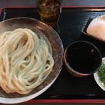 シラカワ - ざるうどん(*゚∀゚*)350円