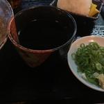 シラカワ - 出汁と薬味の関係