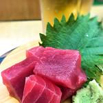 天下寿司 - マグロぶつ245円