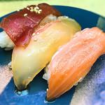 天下寿司 - 漬け三種盛り245円