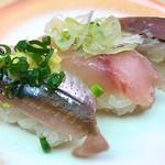 天下寿司 - 光物三種185円