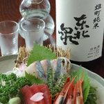 ひょうたん - 料理写真:旬の魚3点盛り