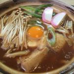 一基庵 - 料理写真:ランチの味噌煮込みうどん