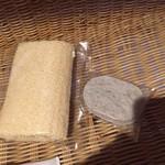 大沢館 - 料理写真:軽石とへちま。。。