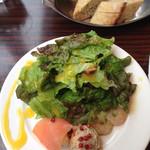 Huit - 前菜&パン