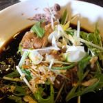 シャンウェイ - 蒸し鶏の葱醤油