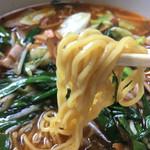 味平 - スタミナラーメン(麺リフト)