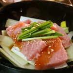 浅草一文 - ねぎまトロステーキ