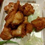炭火焼き鳥 とりのしん - 若鶏のから揚げ