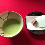 瑞龍寺 - お抹茶 お菓子付 500円(税込)