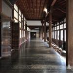 瑞龍寺 - 法堂の廊下