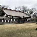 瑞龍寺 - 拝堂