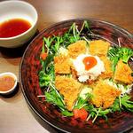 大戸屋 ごはん処 - 梅チキンサラダ