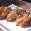 地鶏の手羽先 黒胡椒焼
