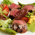 イタリア料理?ボッカボーナ - 料理写真:※要予約 「飛騨牛もも肉のタリアータ 季節の野菜と一緒に」