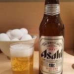 66123500 - 瓶ビール・小瓶(350円)