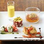 トラットリア ナカタ - 盛り付けや食材の美しさ、そして美味しさに感動『本日のおすすめ前菜5種盛り』