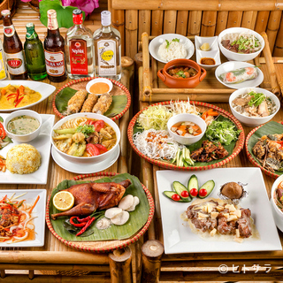 全100種以上、本場のベトナム料理が豊富に勢揃い