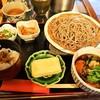 松吟庵 - 料理写真:蔵王豚の角煮つけ蕎麦 定食