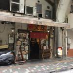 文殊 - 浅草橋駅の高架下