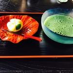 Chaanfuyou - 冷抹茶 上生菓子付¥780