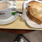 ドトールコーヒーショップ - 朝カフェセットB