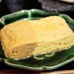 松吟庵 - 蔵王豚の角煮つけ蕎麦 定食(出汁巻玉子)