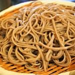 松吟庵 - 蔵王豚の角煮つけ蕎麦 定食(十割蕎麦)