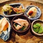 食幹 - 粒ぞろいな小料理5種
