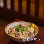 居酒屋 葉牡丹 - スタミナ豆腐