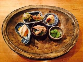 食幹 渋谷 - いろいろ盛り合わせ