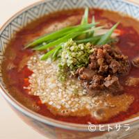 銀座 やまの辺 江戸中華 - 稲庭中華そばと国産厳選食材のハーモニーが楽しめる特製『担々麺』