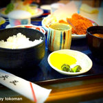 レストラン天王 - 味噌カツ定食。不変の味ですね。