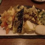 蕎麦処 ないとう - 料理写真:野菜天ぷら盛り合わせ