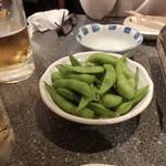 きしや - 「えだ豆」310円(実はサービス)