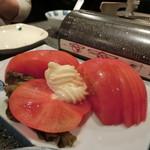 きしや - 「冷しトマト」310円