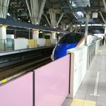 66131521 - 北陸新幹線、金沢駅ホーム