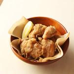 キリンガーデン - お店で毎日仕込む特製の「一番搾りたれ」で漬け込んだ自家製から揚げ。