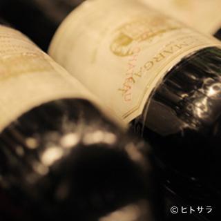 ヴィンテージワイン揃えてます。