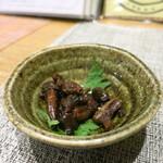 銀座ひらい - 肝の甘辛煮