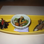 フリットふくみ - コース料理(先付3種)