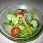 フリットふくみ - コース料理(サラダ)
