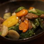 中華ダイニング 紡夢 - 料理写真:牛肉のオイスターソース炒め