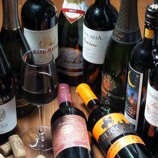 【グラスワインが豊富】世界各国のワインがリーズナブルに♪