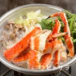 若狭家 - 〆の雑炊もたまらない旨さ!たらばがに鍋・ずわいがに鍋に注目