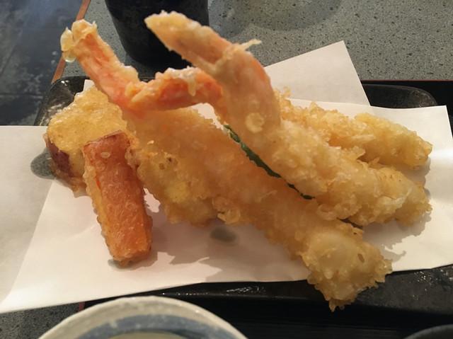 うさぎ庵 - ほっこりな海老さんと野菜天
