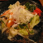 6614603 - 日替り麺のランチ「海鮮塩焼きそば、春巻」(790円)~海鮮塩焼きそば
