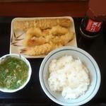 丸亀製麺 - お値段トータル650円